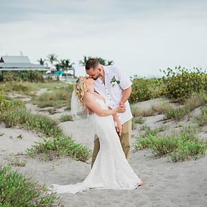 Ashlee and Josh's Wedding, Sharkey's Beach