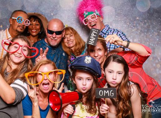 Peggy's 60th Birthday Party Photo Booth, Beach Harbor Club, Longboat Key, FL