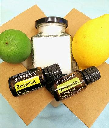 Detox Sugar Scrub- Bergamot & Lemongrass