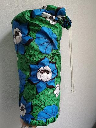 Blue Lotus Bolster Cover