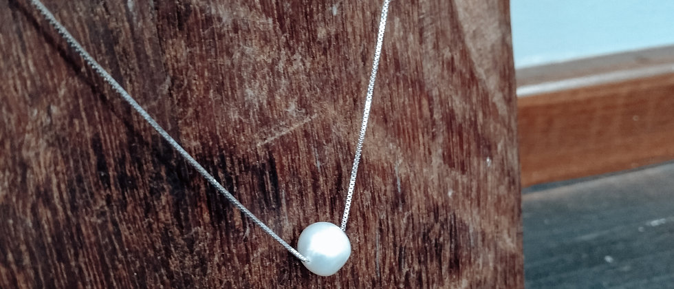 Floating South Sea Pearl Necklace