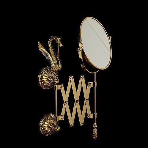 Зеркало оптическое пантограф настенное
