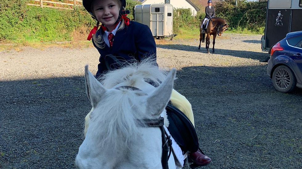 Class One - Tiny Tots and Junior Lead Rein Dressage