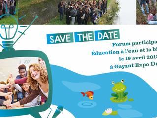 """Forum participatif """"éducation à l'eau et à la biodiversité"""""""