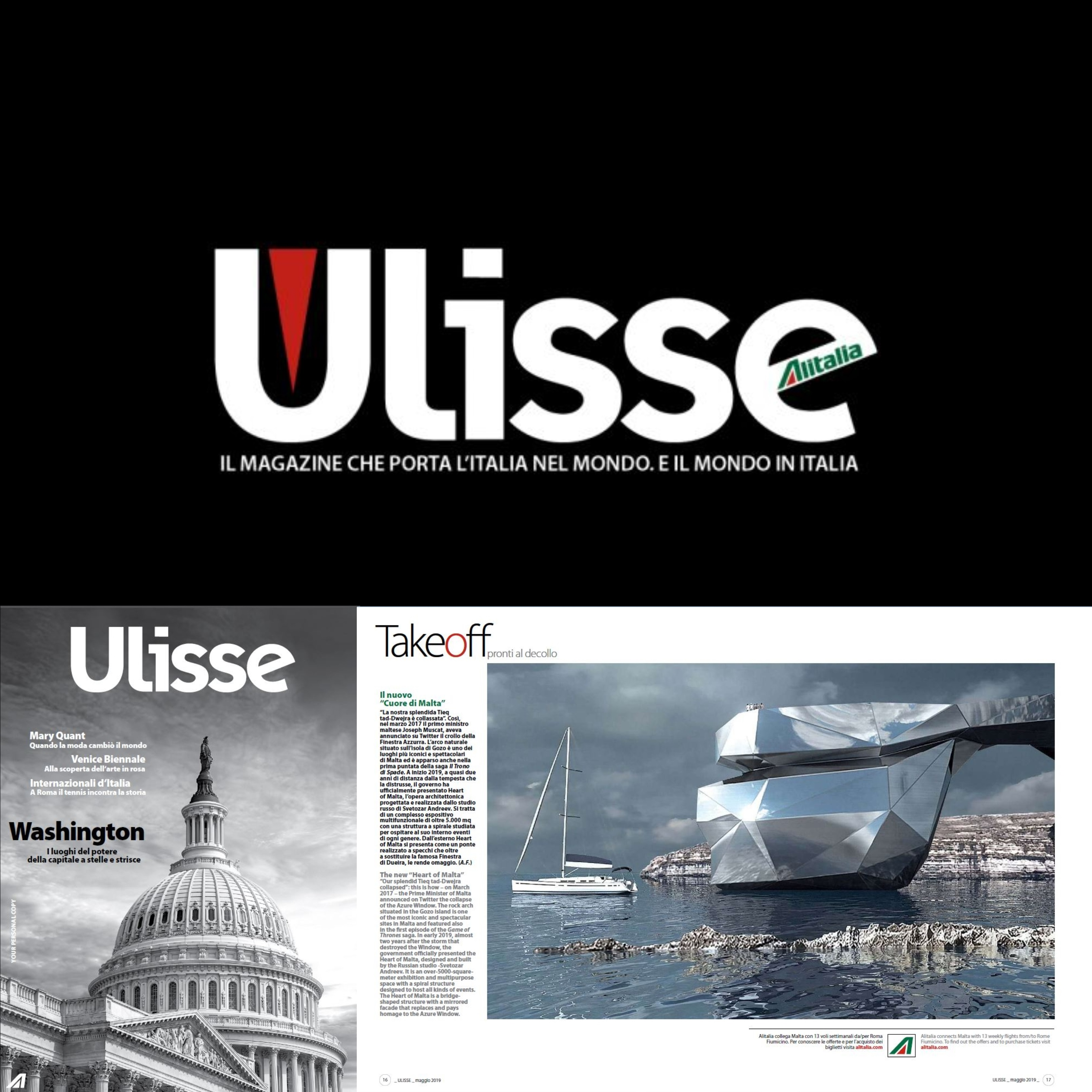 Ulisse In-Flight Magazine