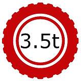 3.5 Tonne Vehicle Logo