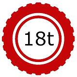 18 Tonne Vehicle Logo