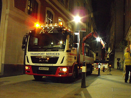 12 Tonne Vehicle at Night