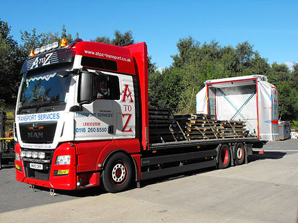 26 Tonne Truck Being Loaded