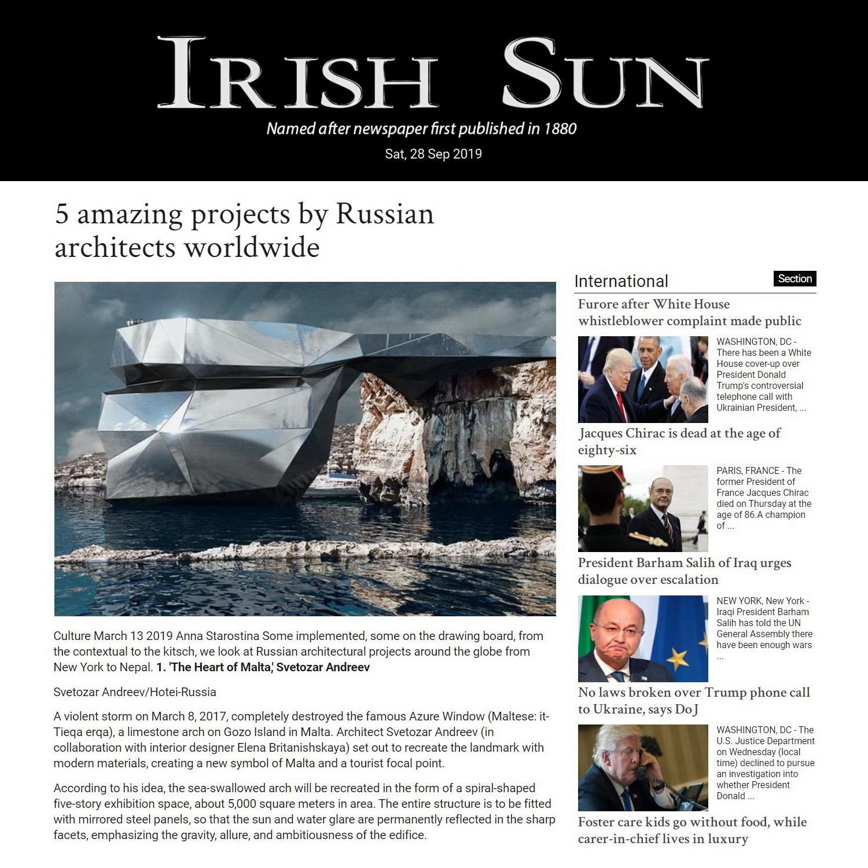 IRISH SUN