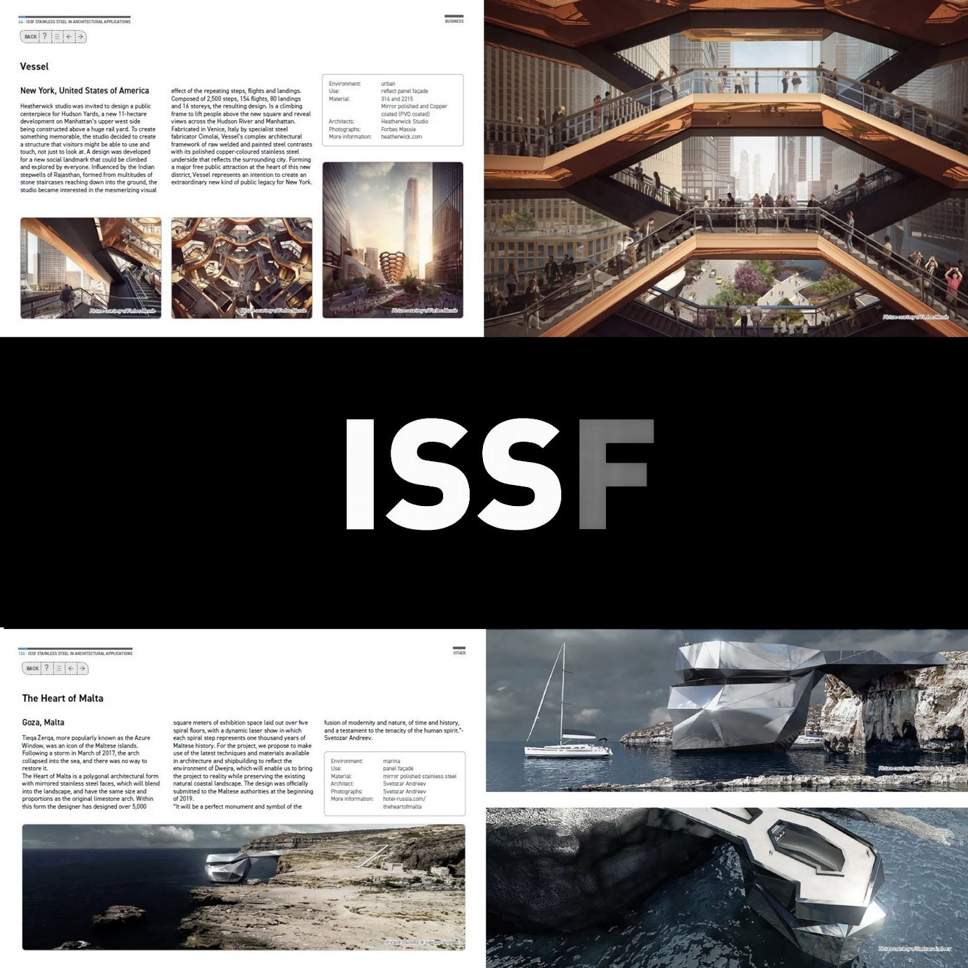ISSF FORUM`S BROCHURE