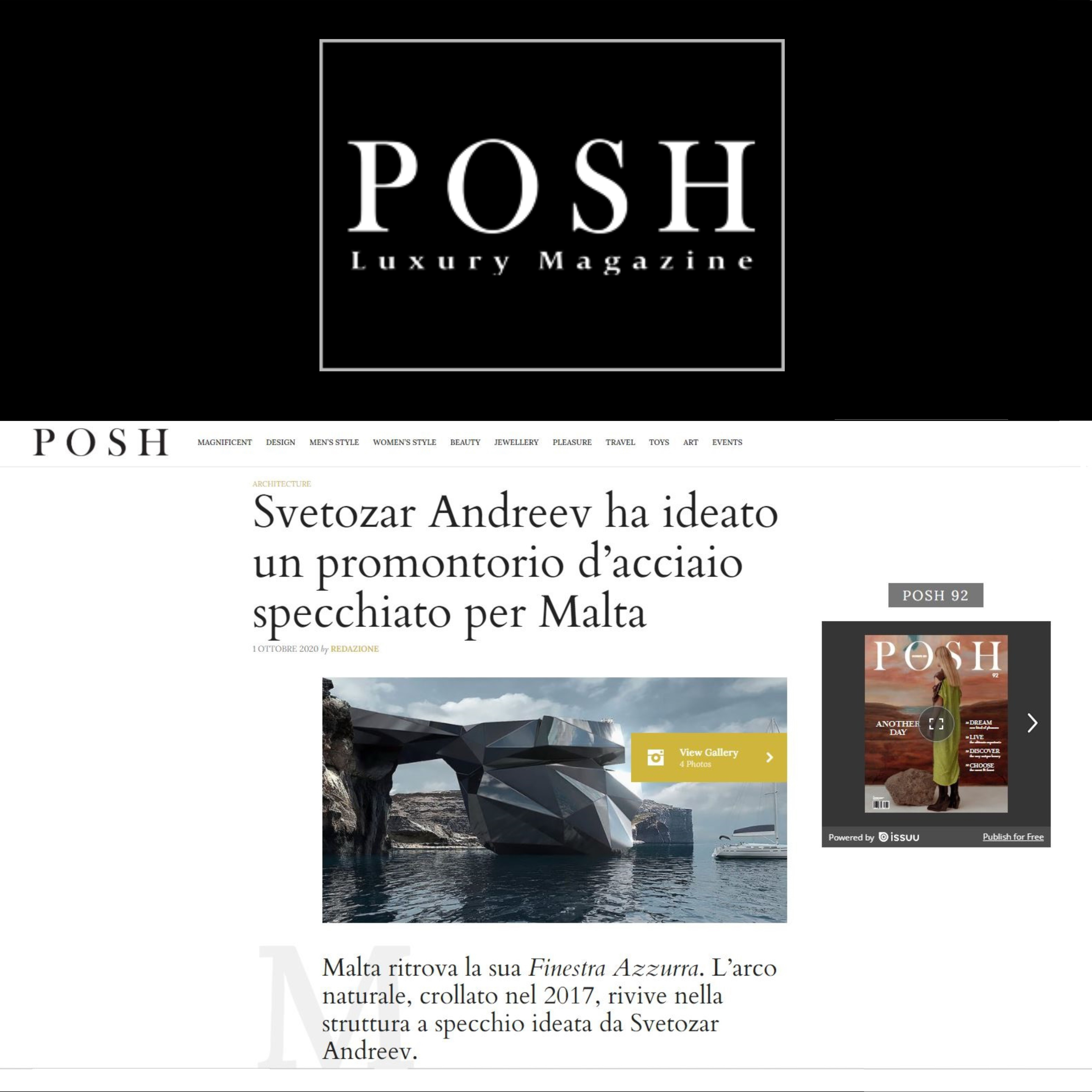 POSH LUXURY MAGAZINE