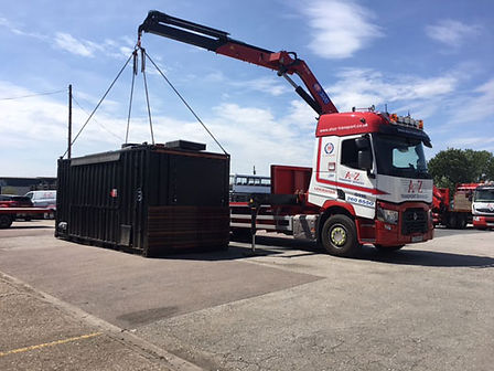 Crane Vehicle Lifting Container