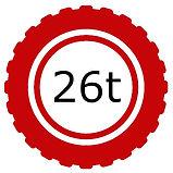 26 Tonne Vehicle Logo
