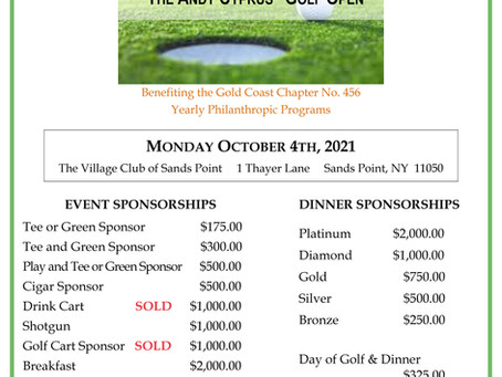 Gold Coast 456 Golf Outing