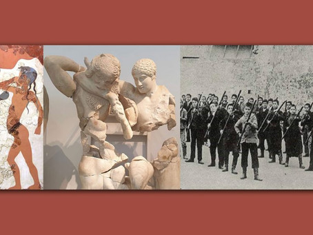 """""""Warrior Arts of the Hellenes: From Ancient Times to the Modern Era"""" Panel Discussion"""