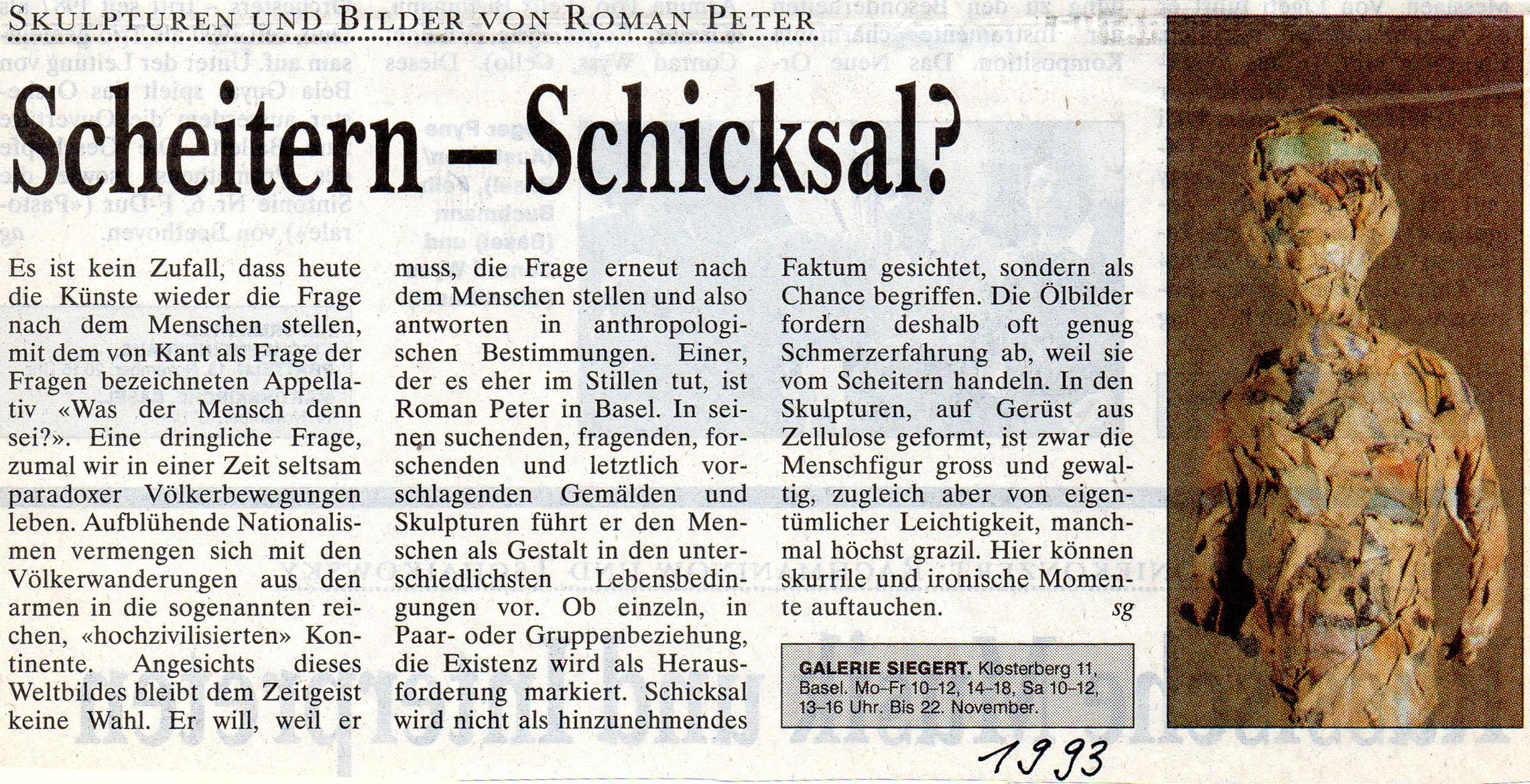 1993, Basler Zeitung