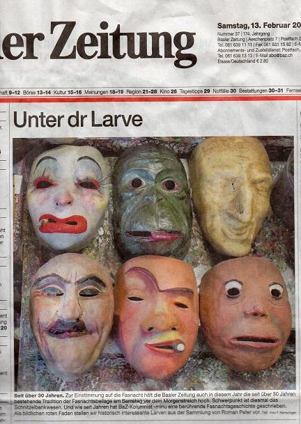 Februar 2016, Basler Zeitung
