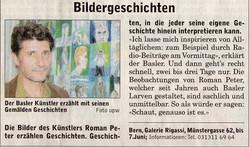 Mai 2003, Berner Bär