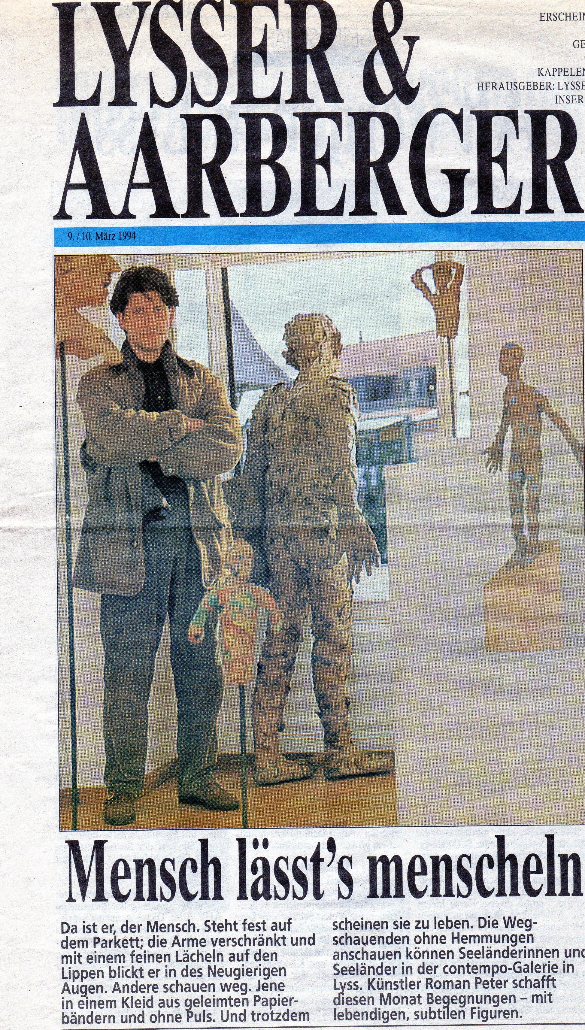 März 1994, Lysser & Aarberger Woche