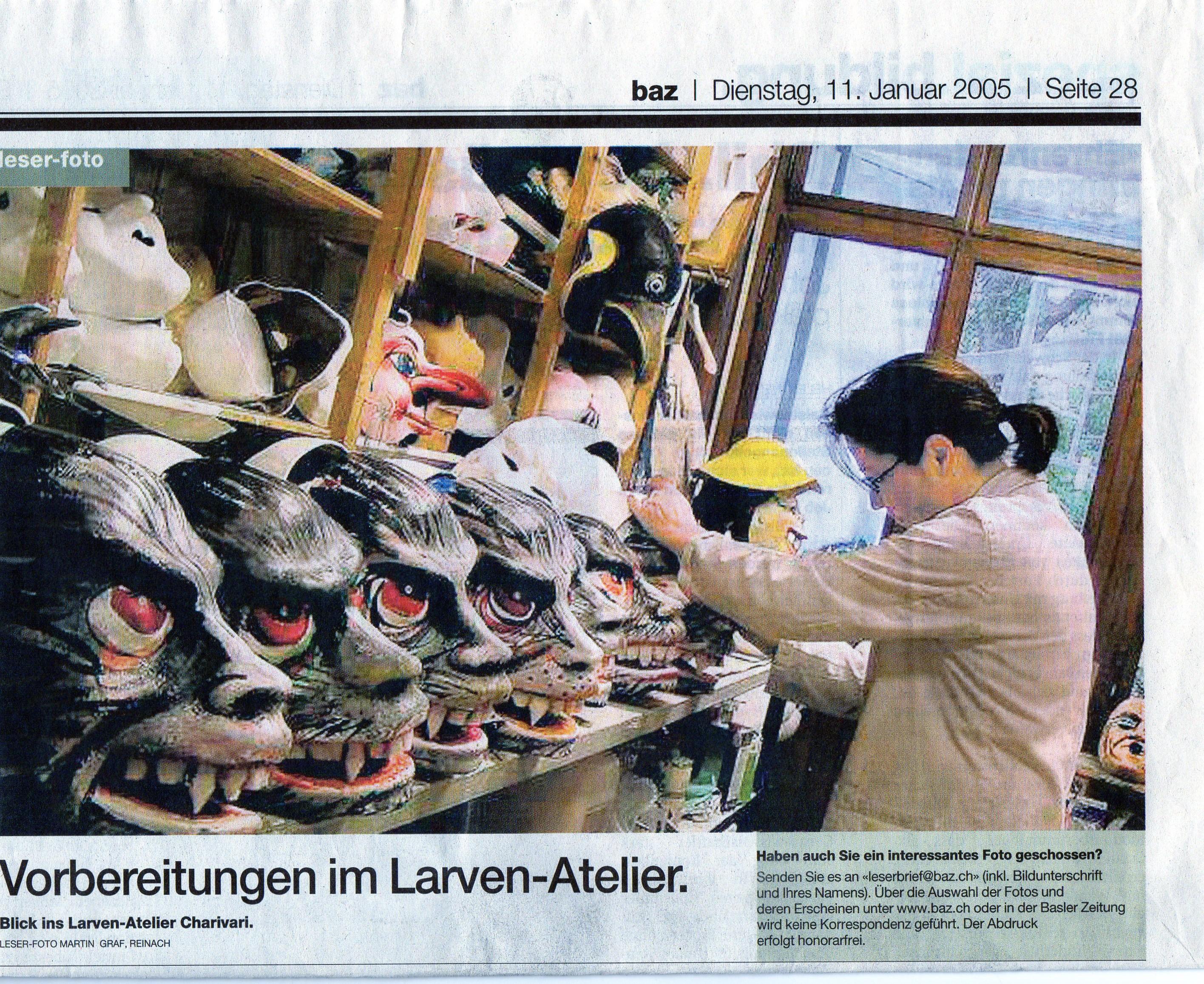 Januar 2005, Basler Zeitung