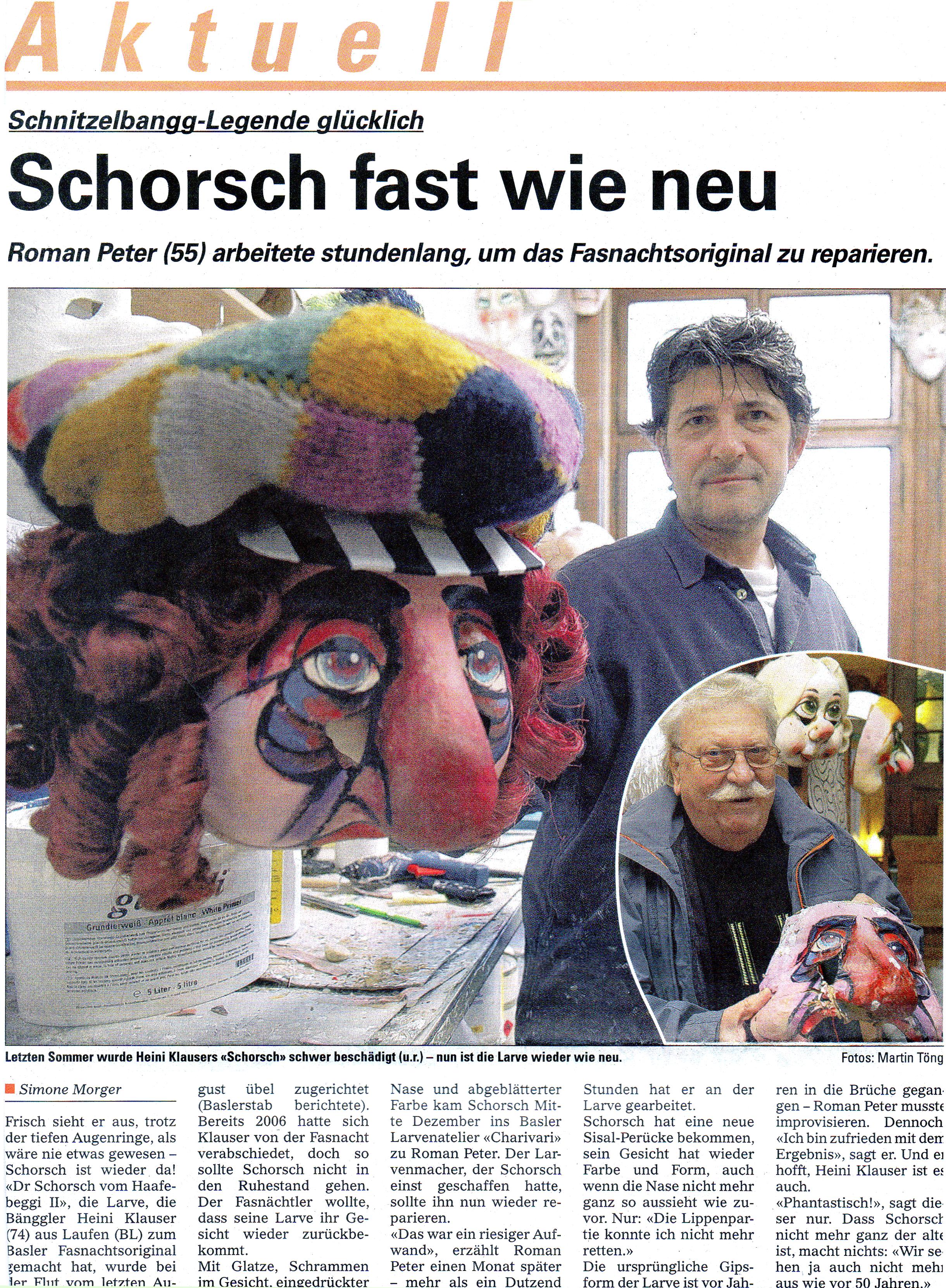 Februar 2008, Baslerstab