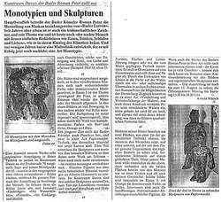 1992, Davoser Zeitung