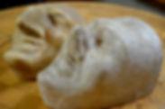Die Basler Künstlerlarve - Ueli und Dummpeter