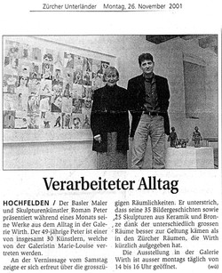 November 2001, Zürcher Unterländer