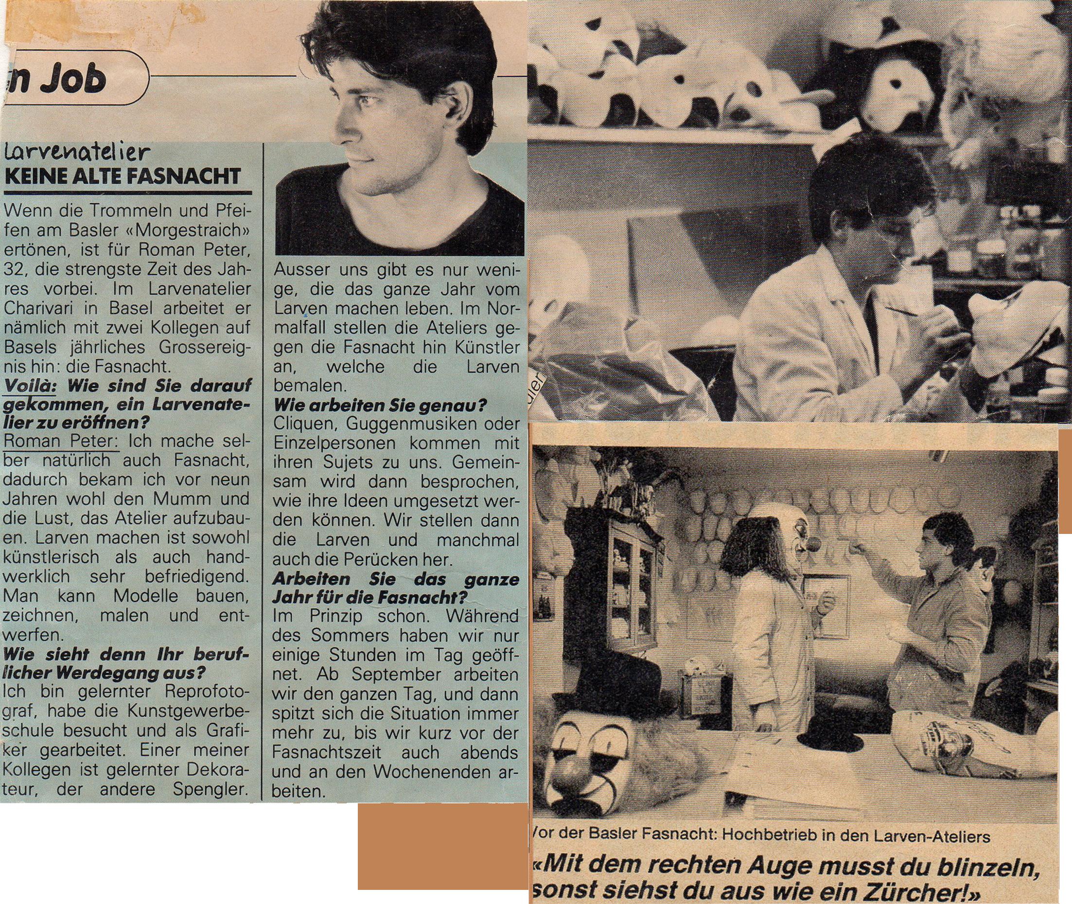 Februar 1985, Voilà