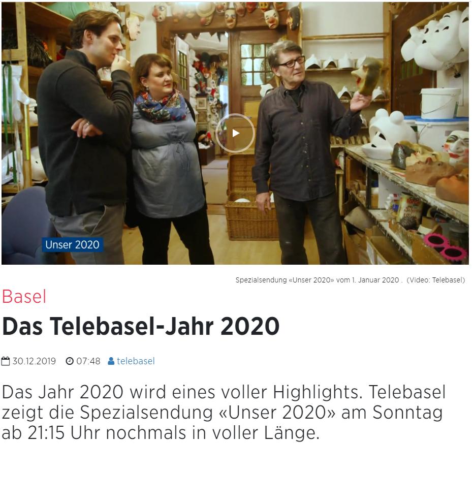 Januar 2020, telebasel