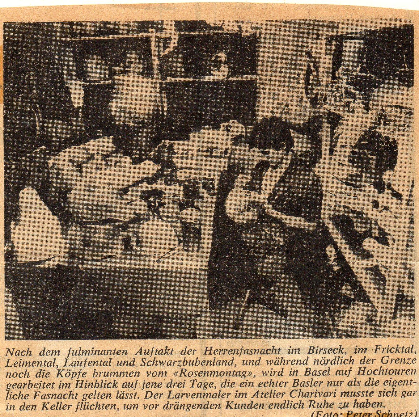 1984, Basler Zeitung