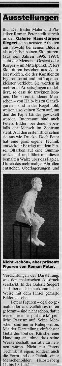 1997, Basler Zeitung