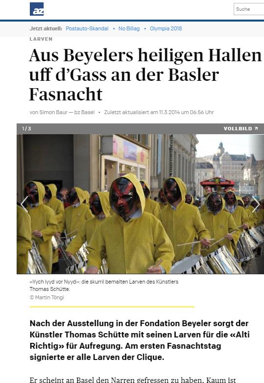 März 2014, Aargauer Zeitung