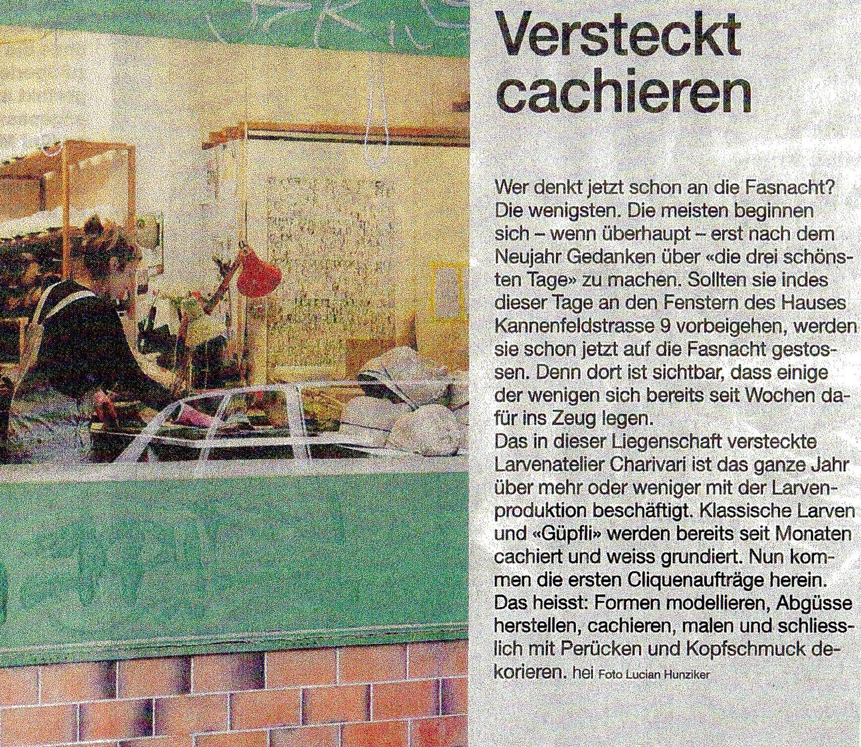 September 2010, Basler Zeitung