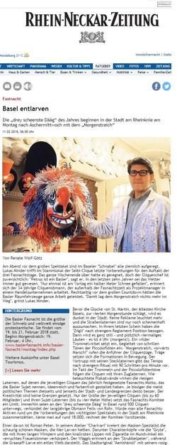 Februar 2018, Rhein-Neckar-Zeitung