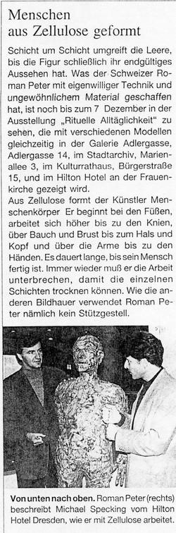 November 1996, Dresdner Amtsblatt