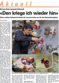 Dezember 2007, Baslerstab