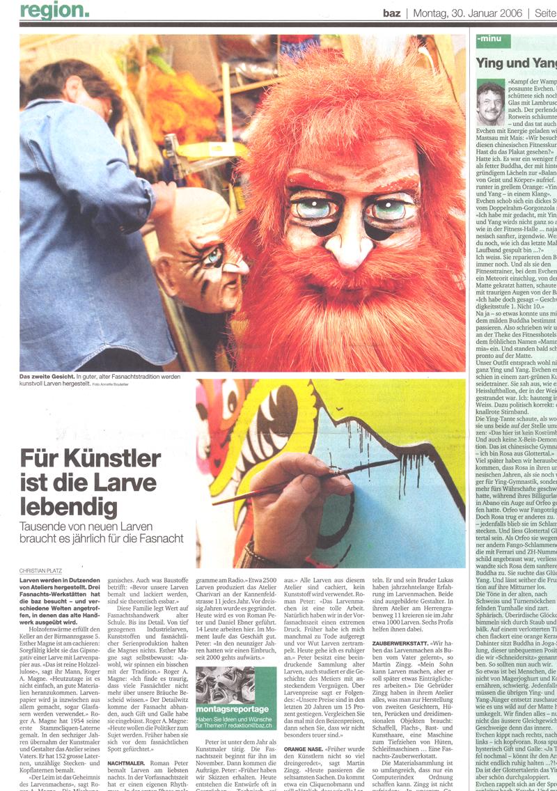 Januar 2006, Basler Zeitung