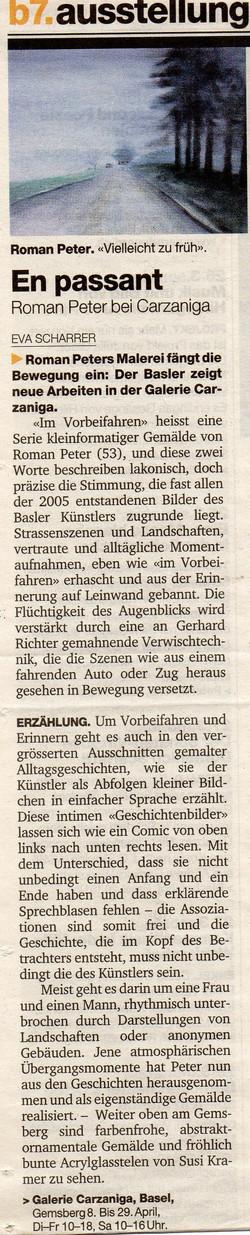 März 2006, Basler Zeitung