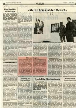 März 1994, Bieler Tagblatt