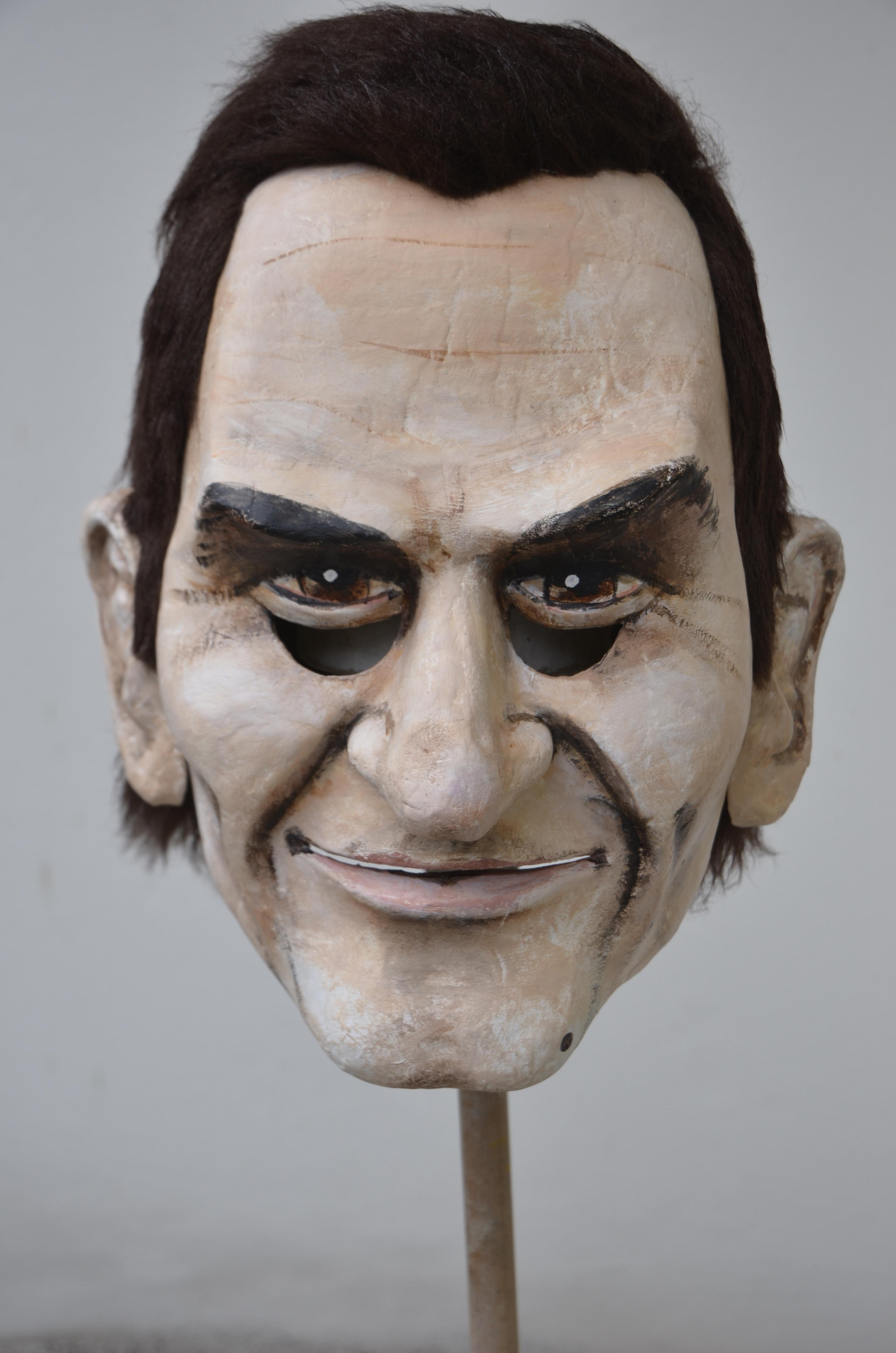 Roger Federer Larve (Tambourmajor)