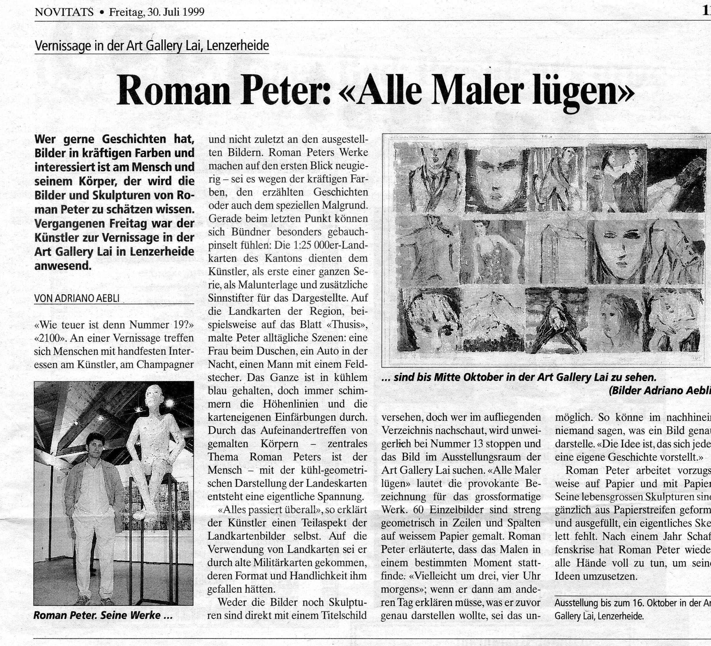 Juli 1990, Novitats