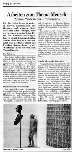 April 1995, Bieler Tagblatt