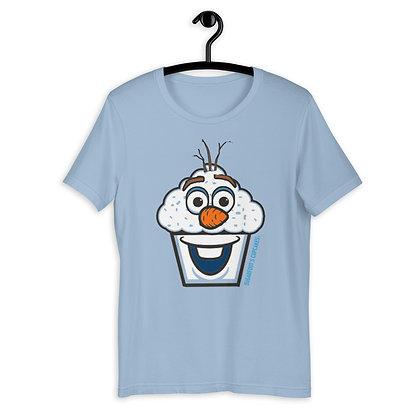 Snowman Cupcake T-shirt