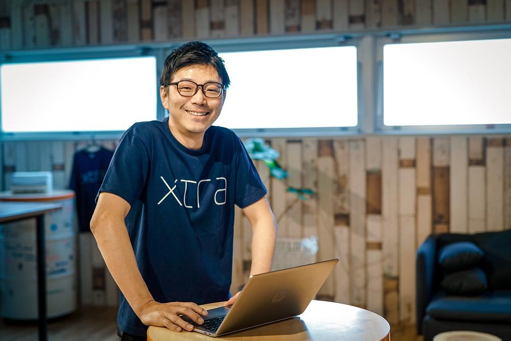 Yuichi Furuya, CEO, Xtra, Inc., Uchi-kanda, Chiyoda-ku, Tokyo, Japan