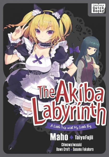 The-Akiba-Labyrinth-impress-quickbooks-ライトノベル-表紙