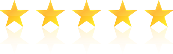 5 Stars with Reflection.png
