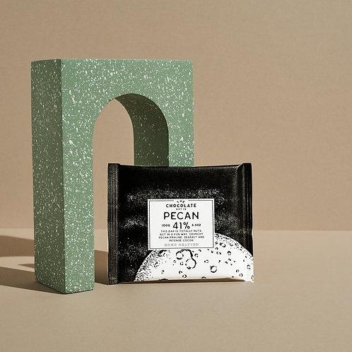 Pecan and Sea Salt 70% Dark Chocolate Bar
