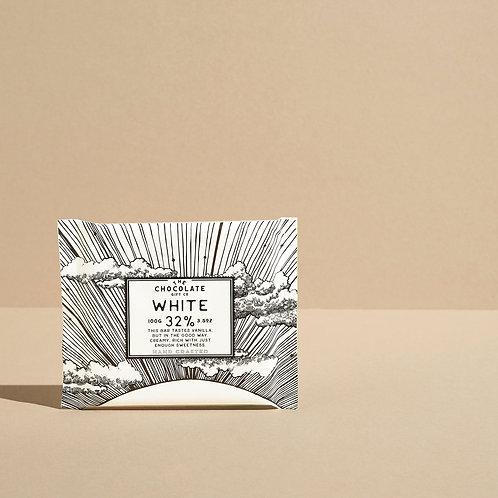 32% White Chocolate Bar